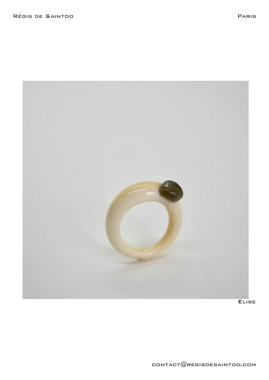 ©Régis de Saintdo-ring-bone-obsidienne-hand made