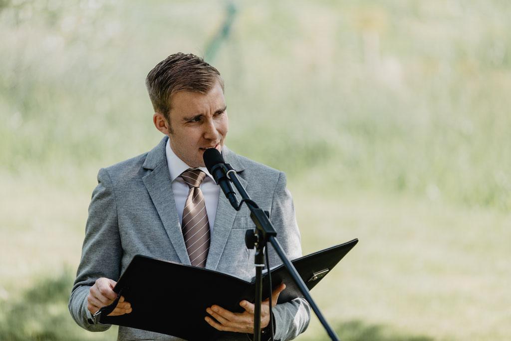 Freie Trauung von Hochzeitsredner Pierre Ulfig, Die Hochzeitsmacher