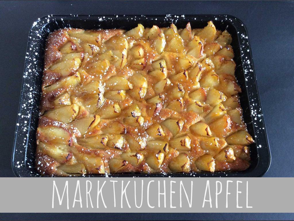 MARKTKUCHEN DES TAGES - Hier: Apfel (bitte Aushang im Café beachten)