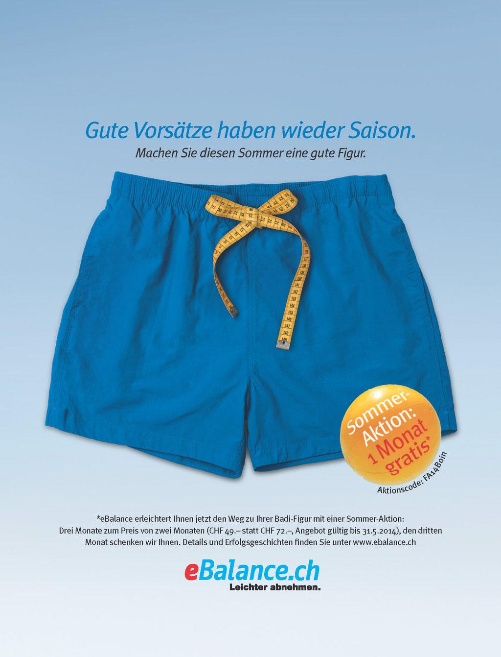 eBalance Kampagne Sommerfigur