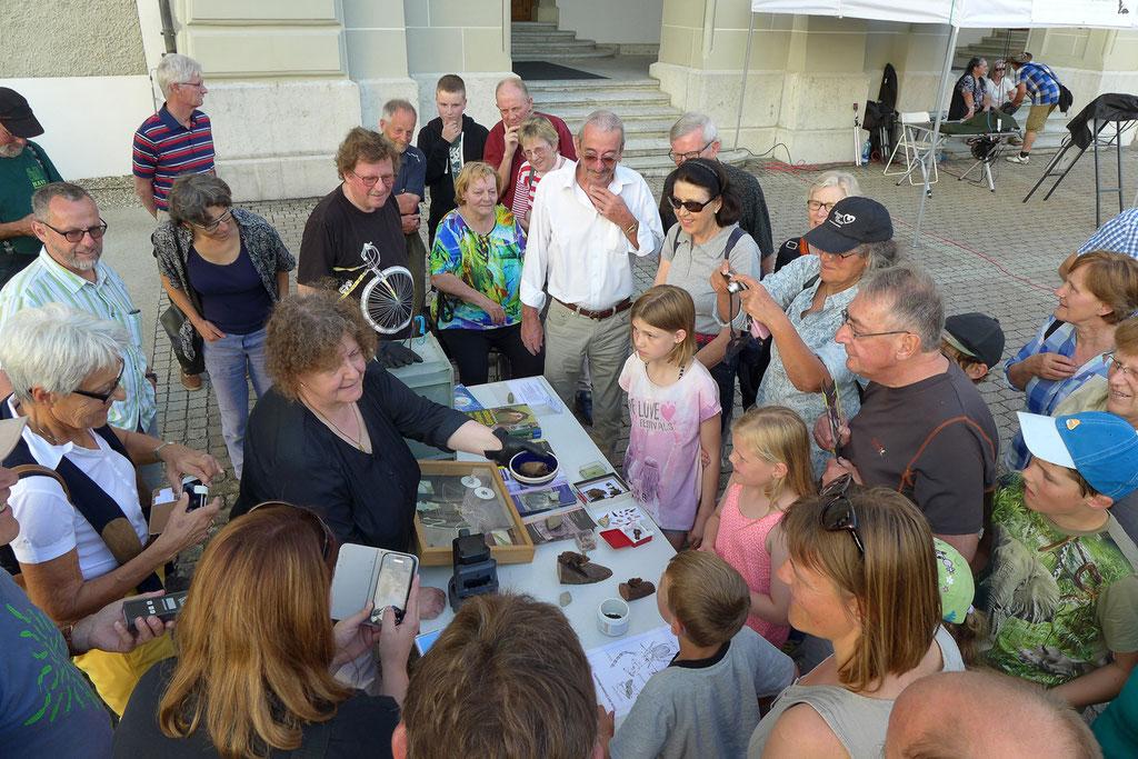 Beim Publicviewing 2016 durchgeführt von der Schweizerischen Stiftung für Fledermausschutz, dem kantonalen Fledermausschutz, dem Quartierbetreuer Pius Kunz und dem Verein Lebendiges Rottal konnte die Bevölkerung diese Kolonie hautnah kennen lernen.