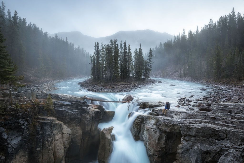 Sunwapta Falls. Canadian Rockies Photography Workshop