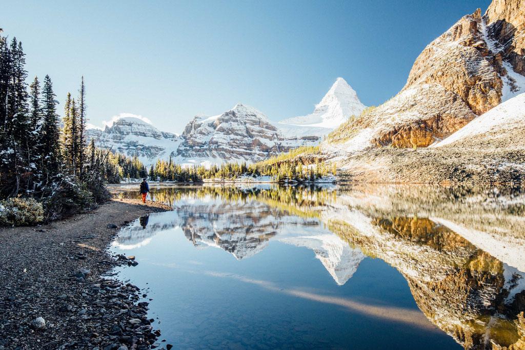Sunburst Lake Mt Assiniboine Provincial Park