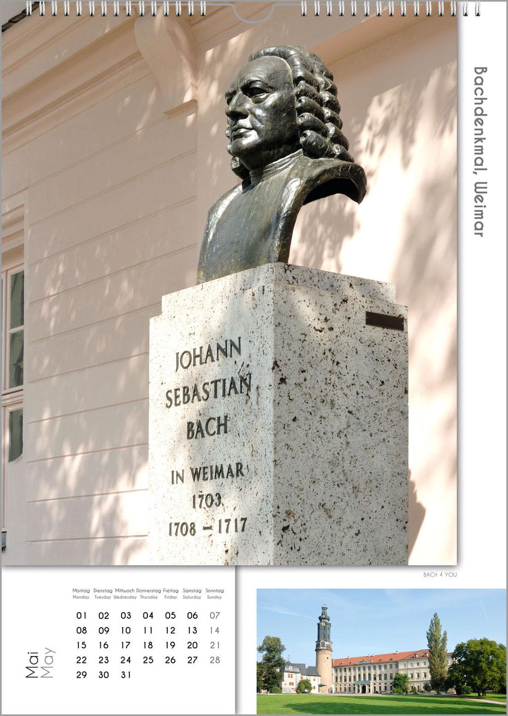 "Bach-Kalender. Mozart-Kalender, Beethoven-Kalender ... bei ""Bach 4 You""."