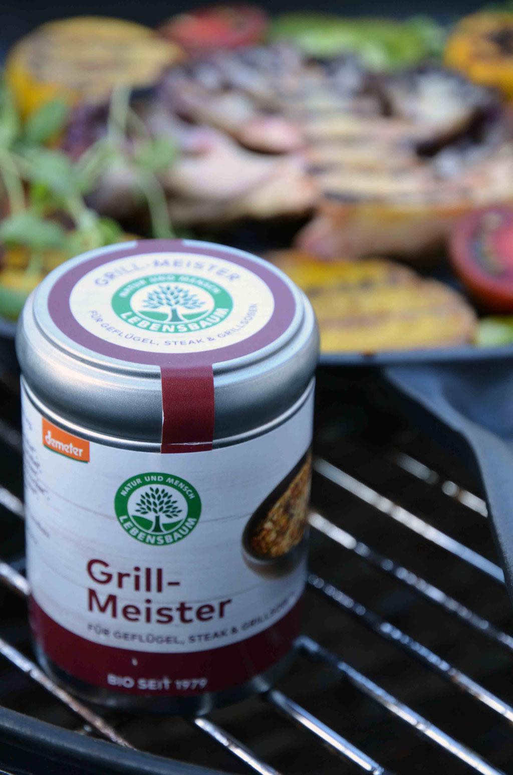 Das Grillmeister-Gewürz gibt dem bunten Gemüsemix die richtige Frische.