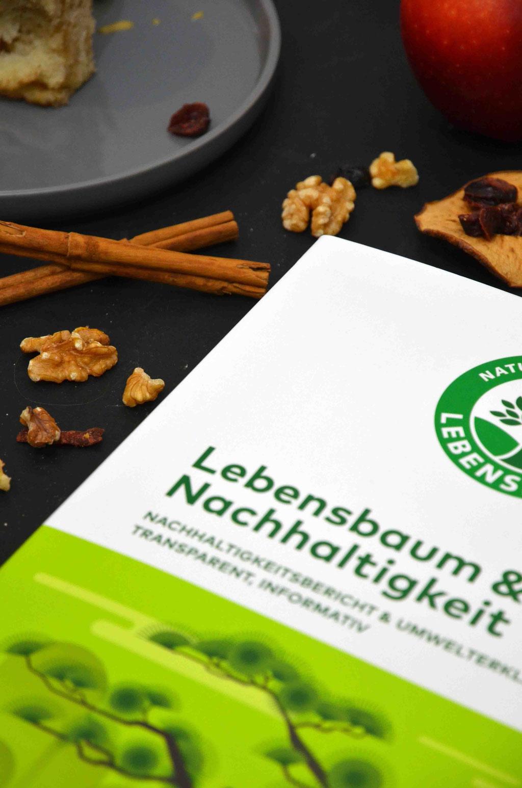 Lebensbaum & Nachhaltigkeit: Der neue Nachhaltigkeitsbericht von Lebensbaum zeigt sehr ausführlich und transparent, wie sich die Marke schon sehr lange nachhaltig engagiert.