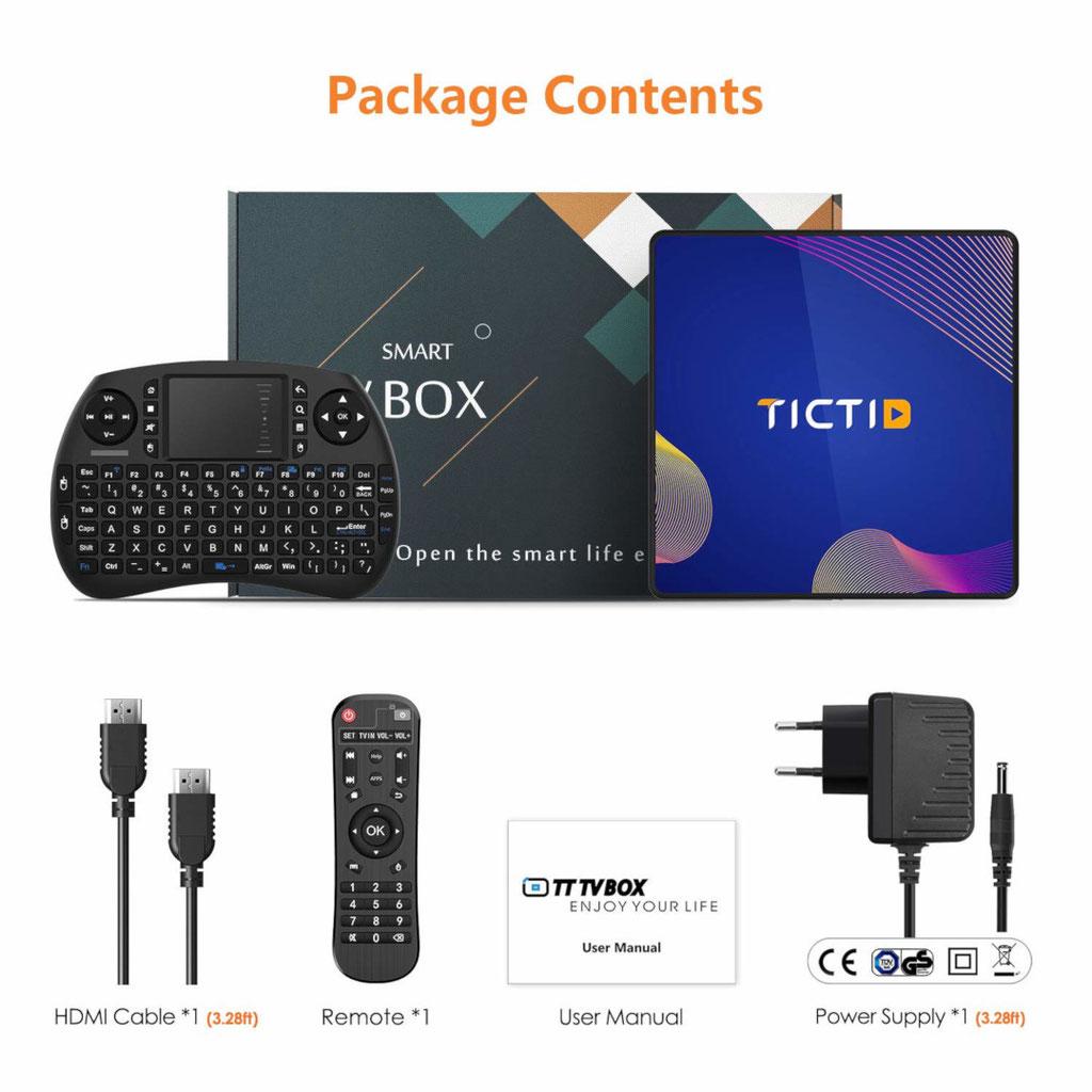Tictid R8 Plus TV Box
