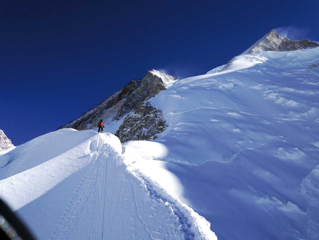 Aufstieg Banana Ridge, Gasherbrum II, Gasherbrum 2, Gasherbrum Expedition, Expeditionen, Expeditionen in Pakistan,
