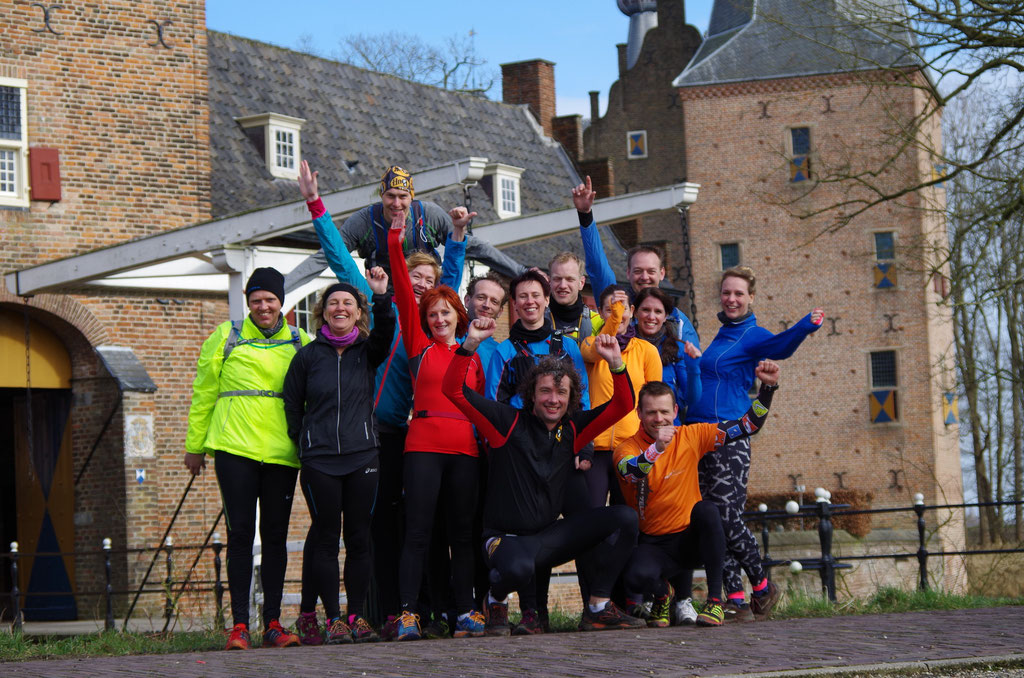 Mindful Run Event januari Doorwerth 2015