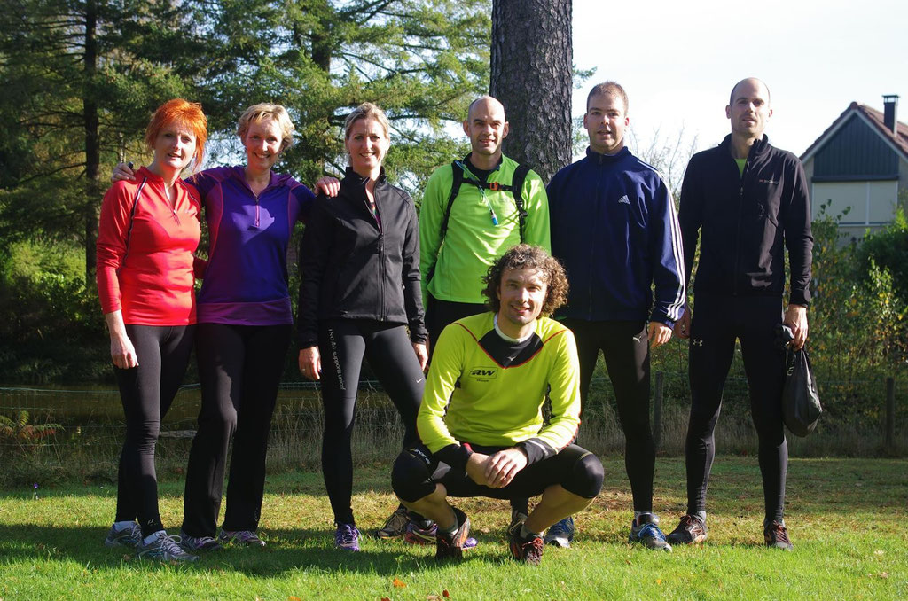 Mindful Run vrijdagmorgen groep Nijverdal 2014