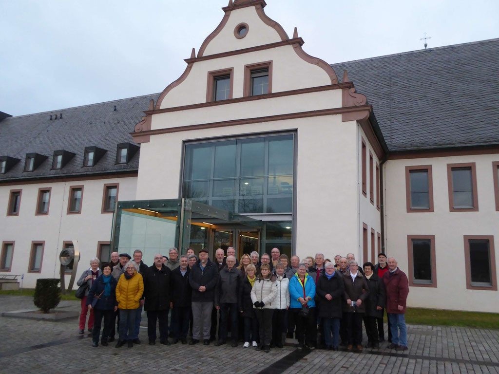 5.1.2020 Excursion ins Kloster Himmelspforten in Würzburg
