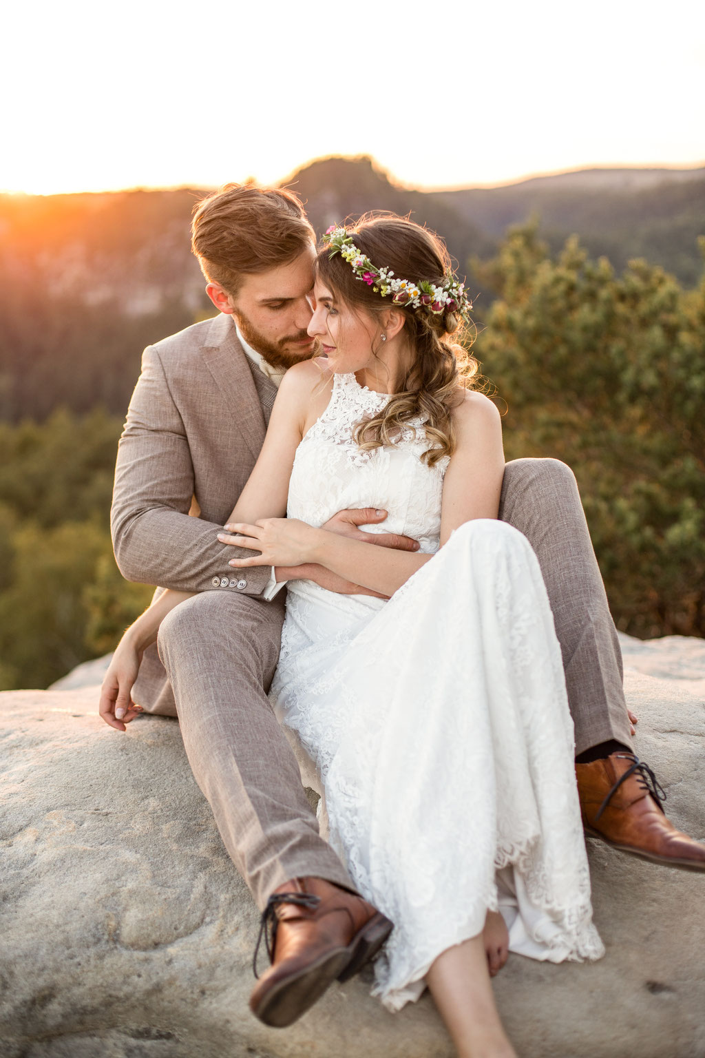 Hochzeitsfotografie Hochzeitsfotografin Hochzeit Dresden Nauen Styled Wedding Shooting Sächsische Schweiz