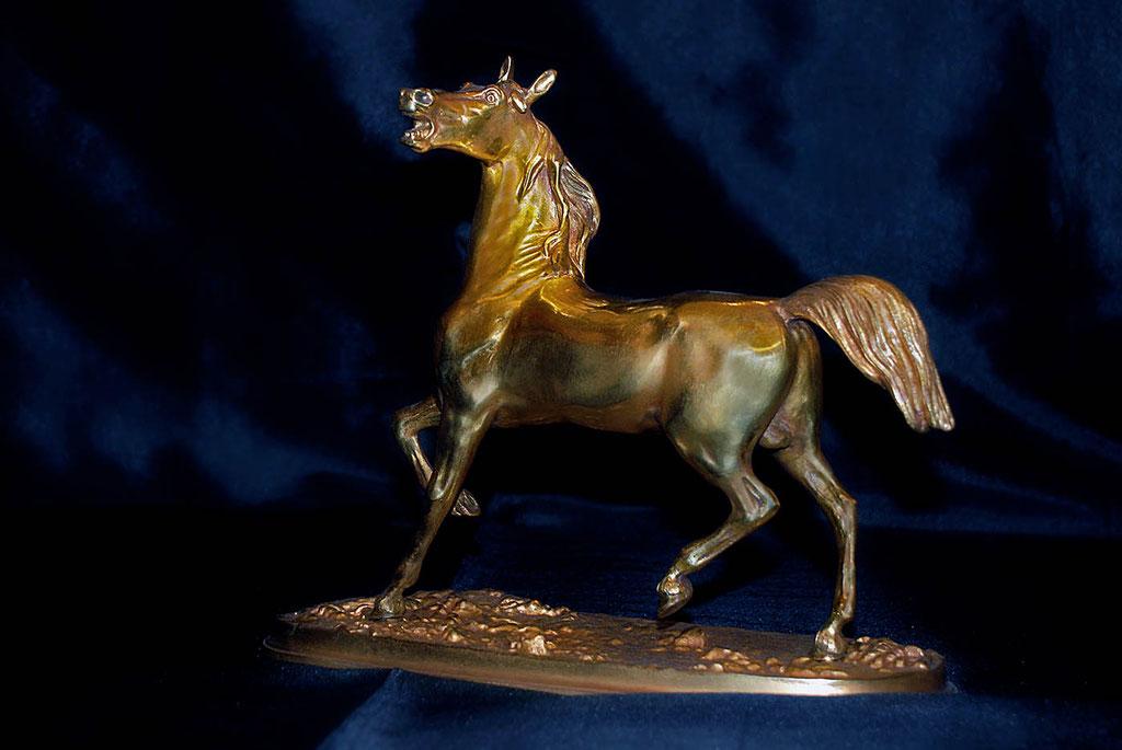 Bronze équestre par Lumibronze Eric Picaut