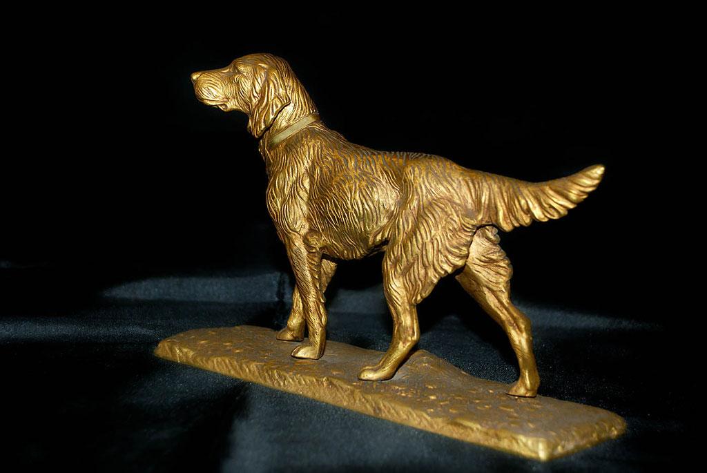 Bronze animalier par l'artisan du bronze Eric Picaut