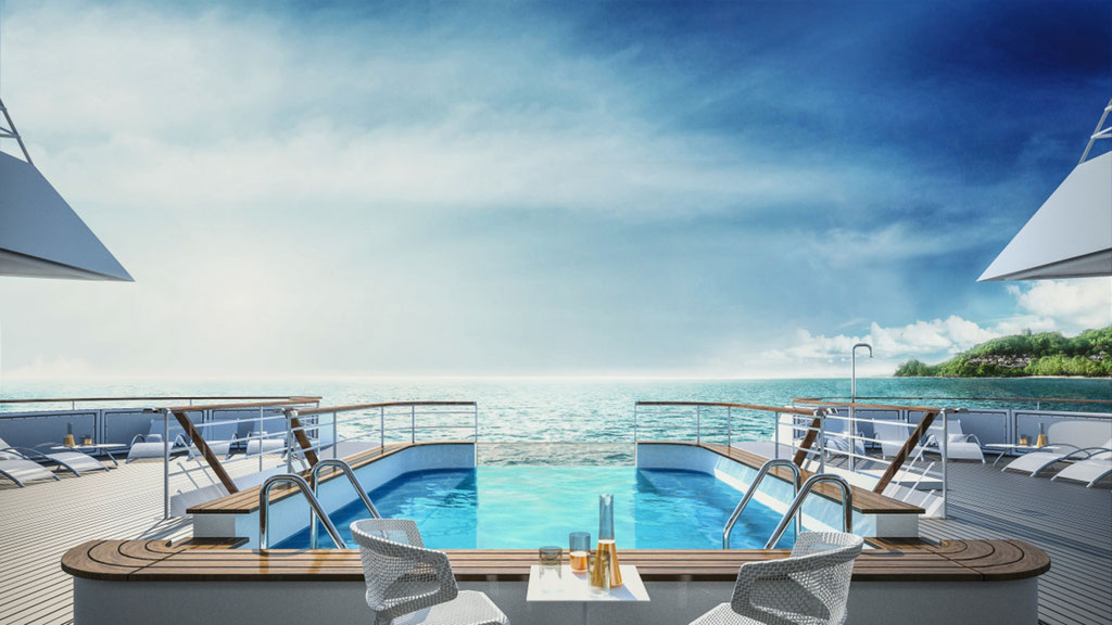Le Lapérouse Schiff PONANT Pool
