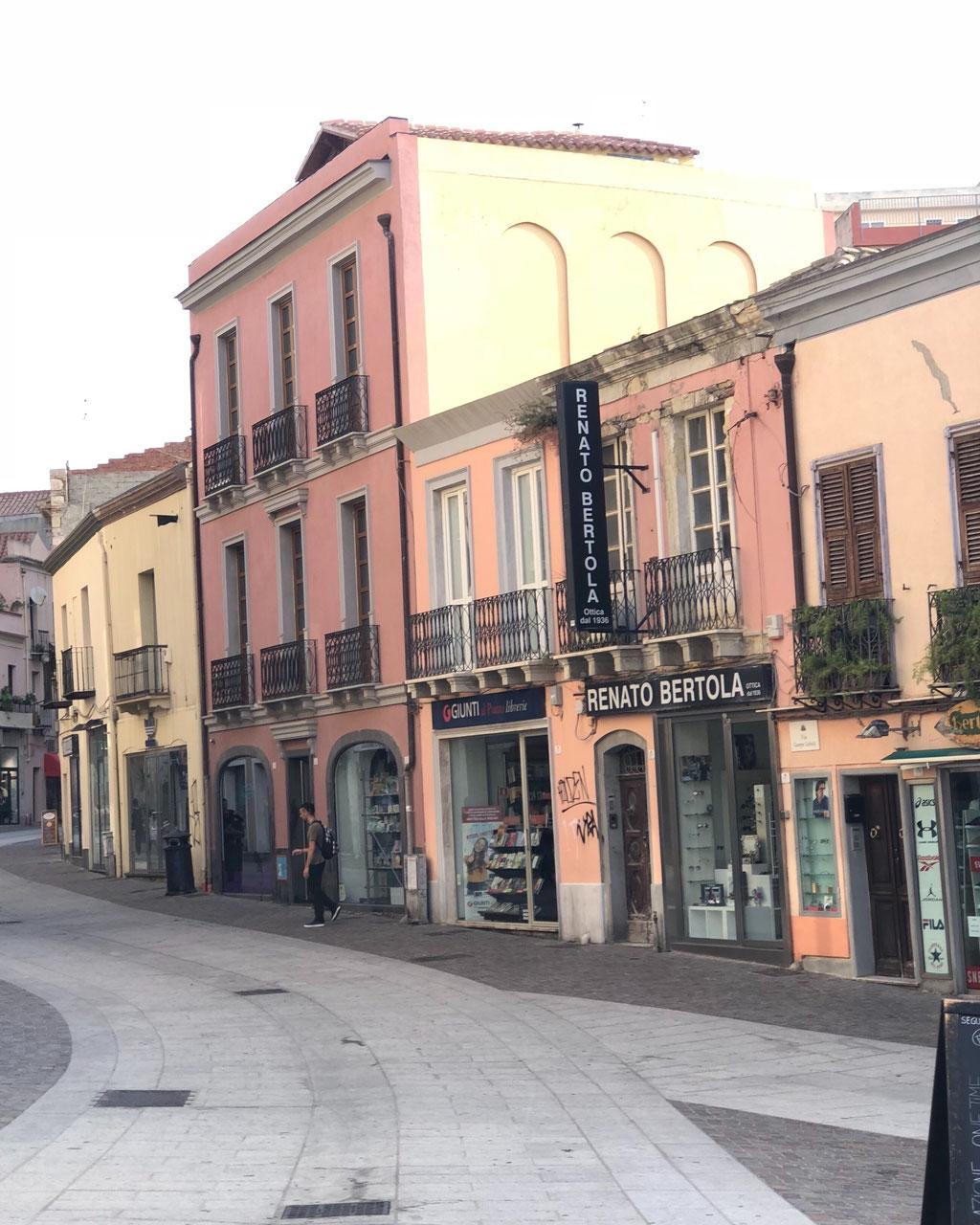 Hauptstadt Cagliari