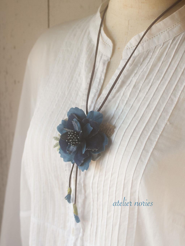 Melissa Necklace2 メリッサ デニムのペンダント ロングタイプ