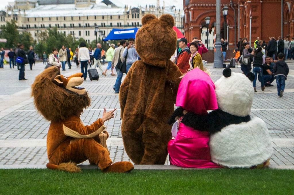 Moskau, 2013