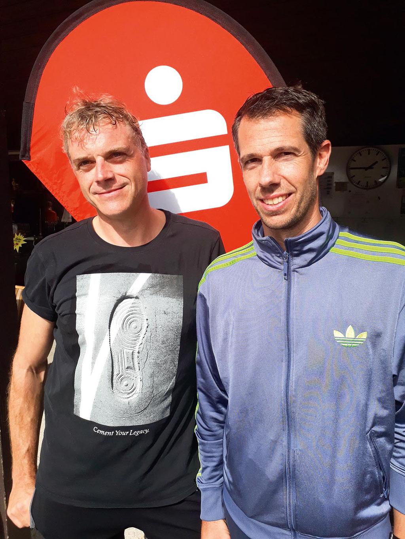 (v.li.) Matthias Walter und Björn Heckhoff