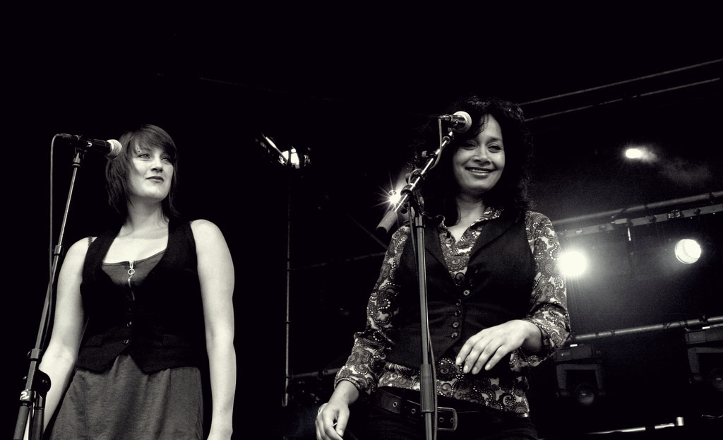 left to right; Liza Borra & Marlène Berger