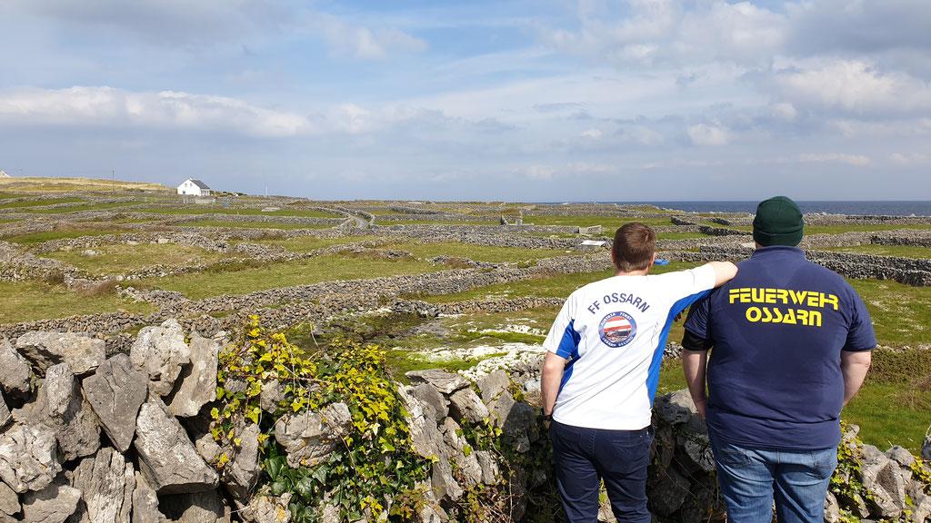 Matthias und Lukas in Irland