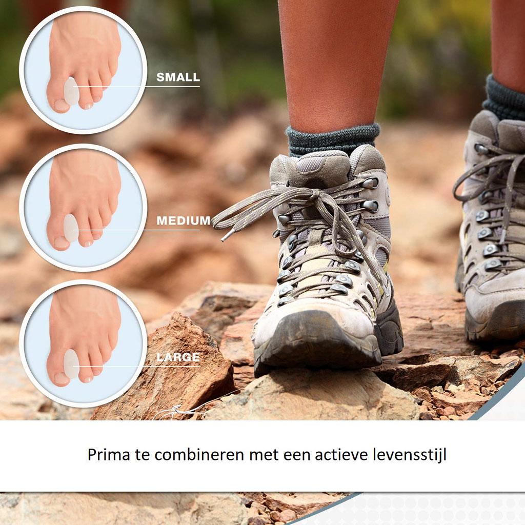 Tenenspreider teenspreider tenen spreider teen spreiden Hallux Valgus Bunion Pijn in voet Pijn in voet Scheef groeiende