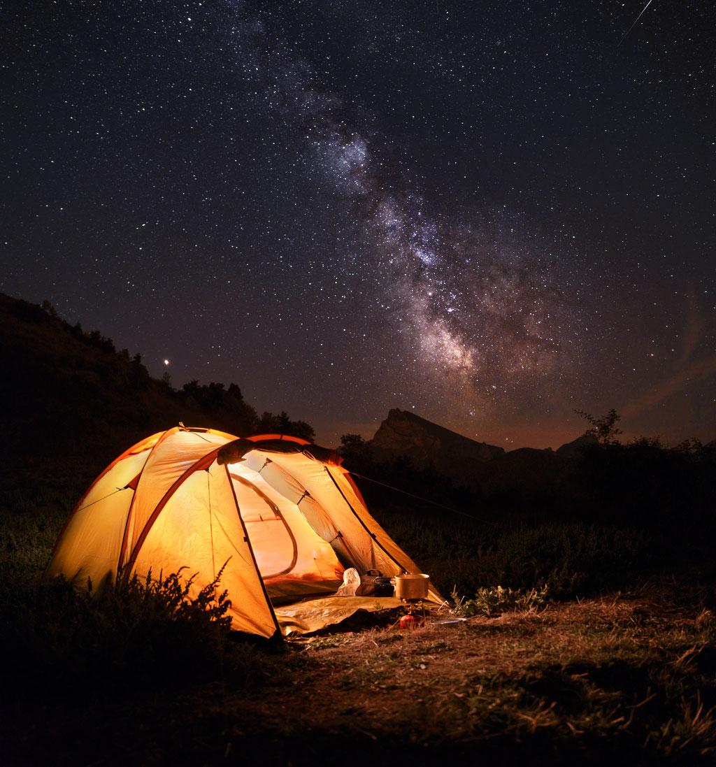 Bivouac sous les étoiles  - Corps - (Isère)