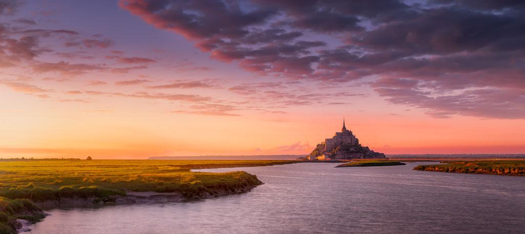 Mont St Michel - Normandie - France) © Arzur Michaël