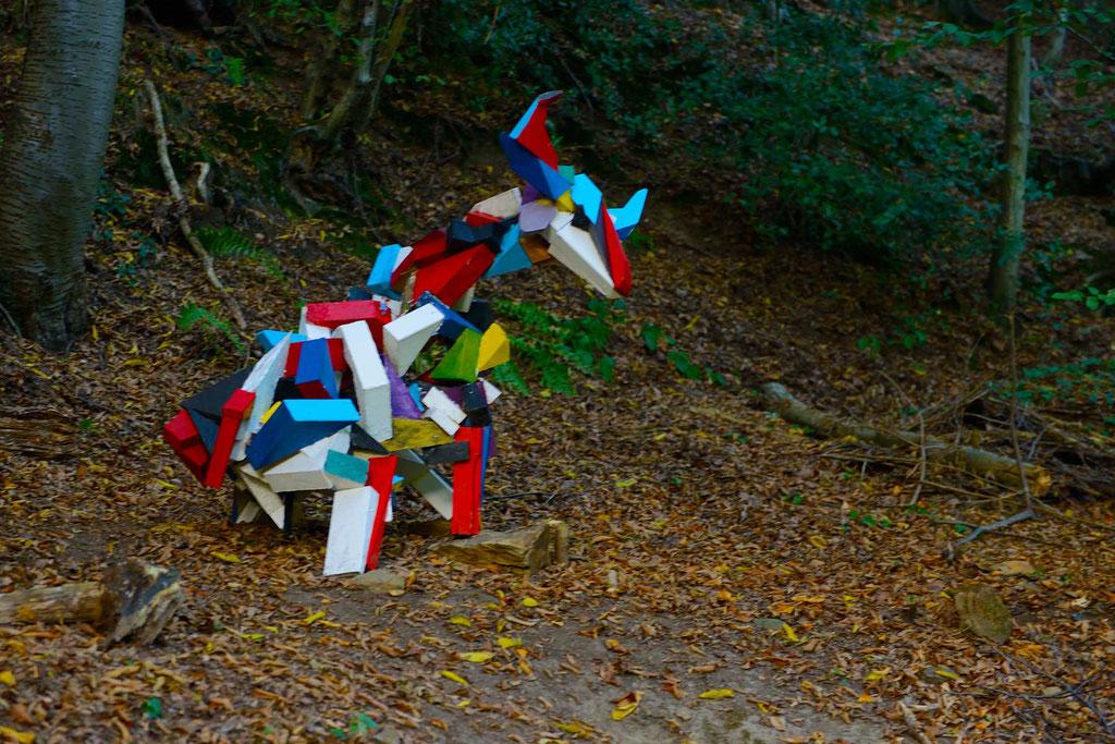 Künstler: KempkensJ - Tier; Foto und Bildbearbeitung Volker Grünenthal