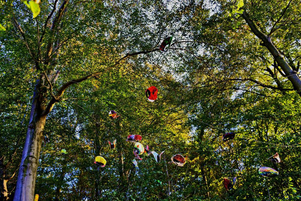 Künstler: KettnerG - recycling butterflies; Foto und Bildbearbeitung Volker Grünenthal