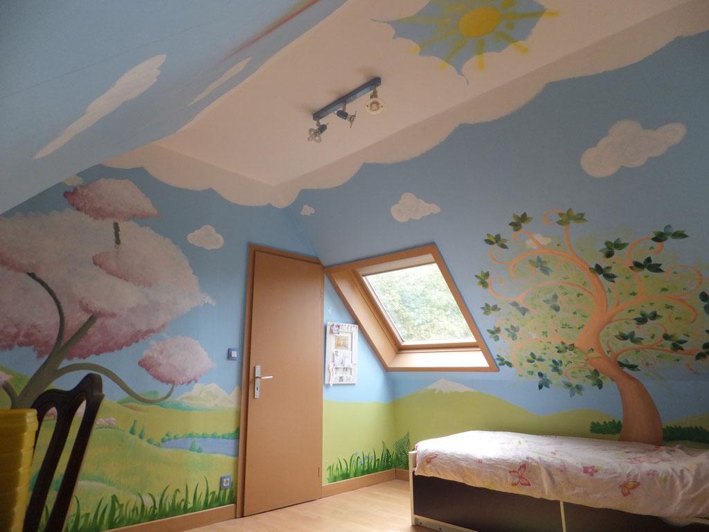 Murs d'enfants   site de les croquis d'axelle