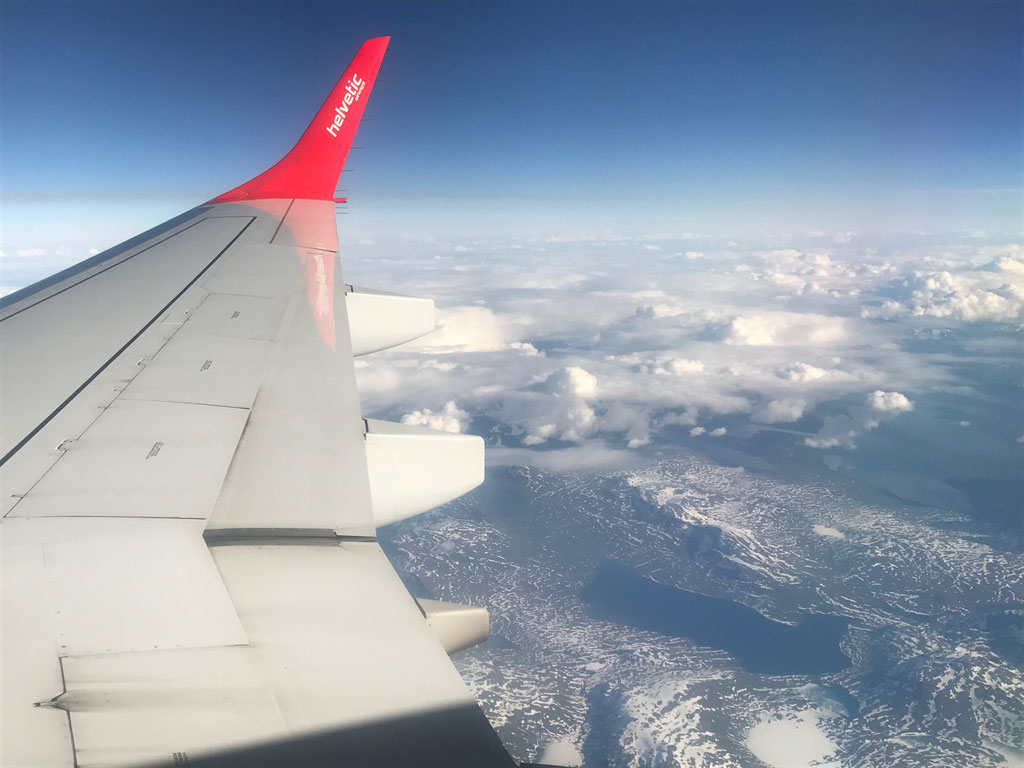 Helvetic Airways Zürich - Tromsö