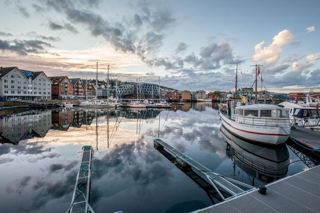 Tromø Hafen Norwegen