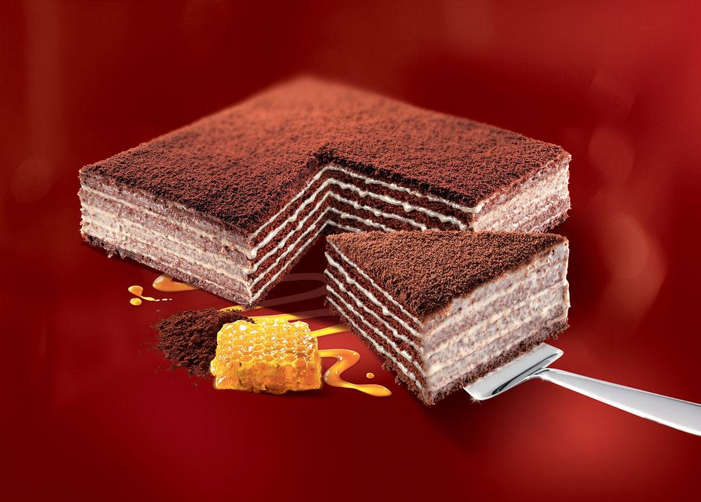 MARLENKA Honigtorte mit Kakao