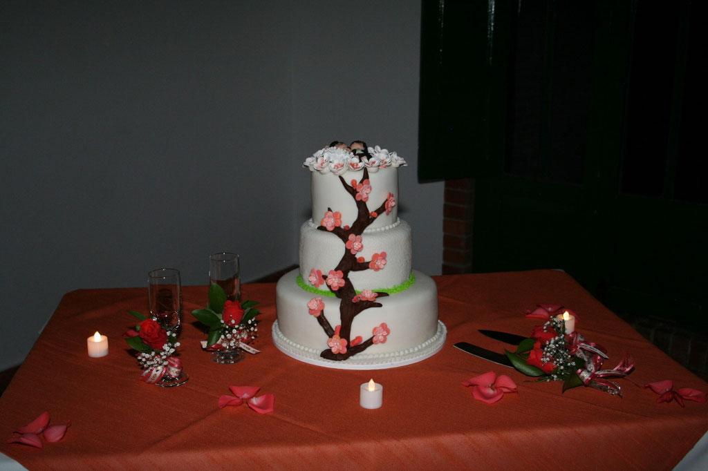 Pastel de bodas Cajicá