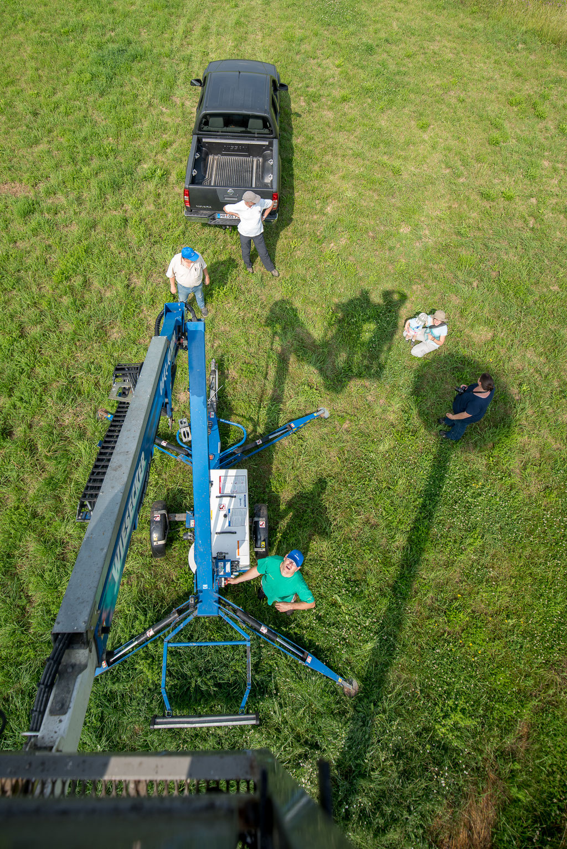 Ein Blick von oben - Foto: Sascha Rösner