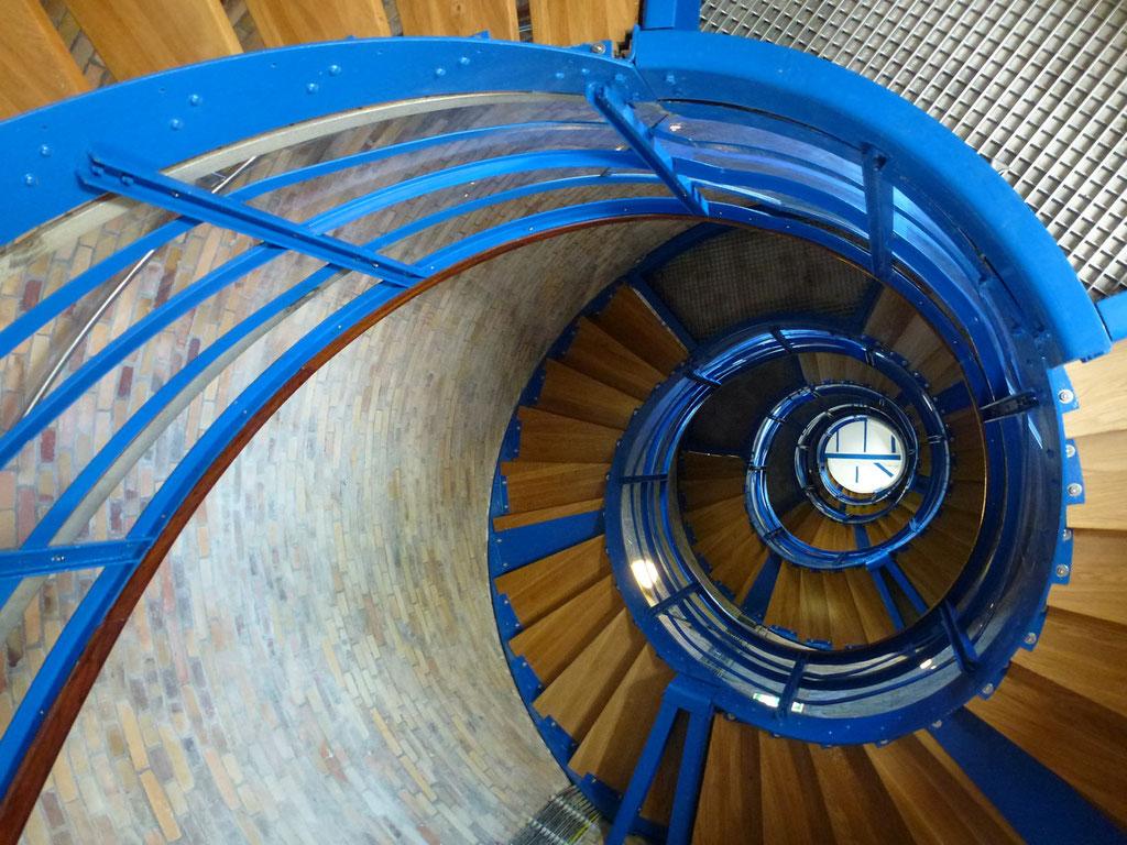 Bild: Wendeltreppe im Leuchtturm