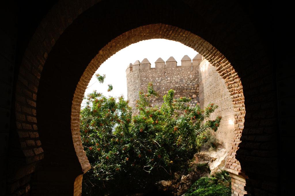 Weihnachten in Andalusien (viele Fotos) - La Alcazaba Almeria Puerta de la Justicia - Zebraspider DIY Anti-Fashion Blog