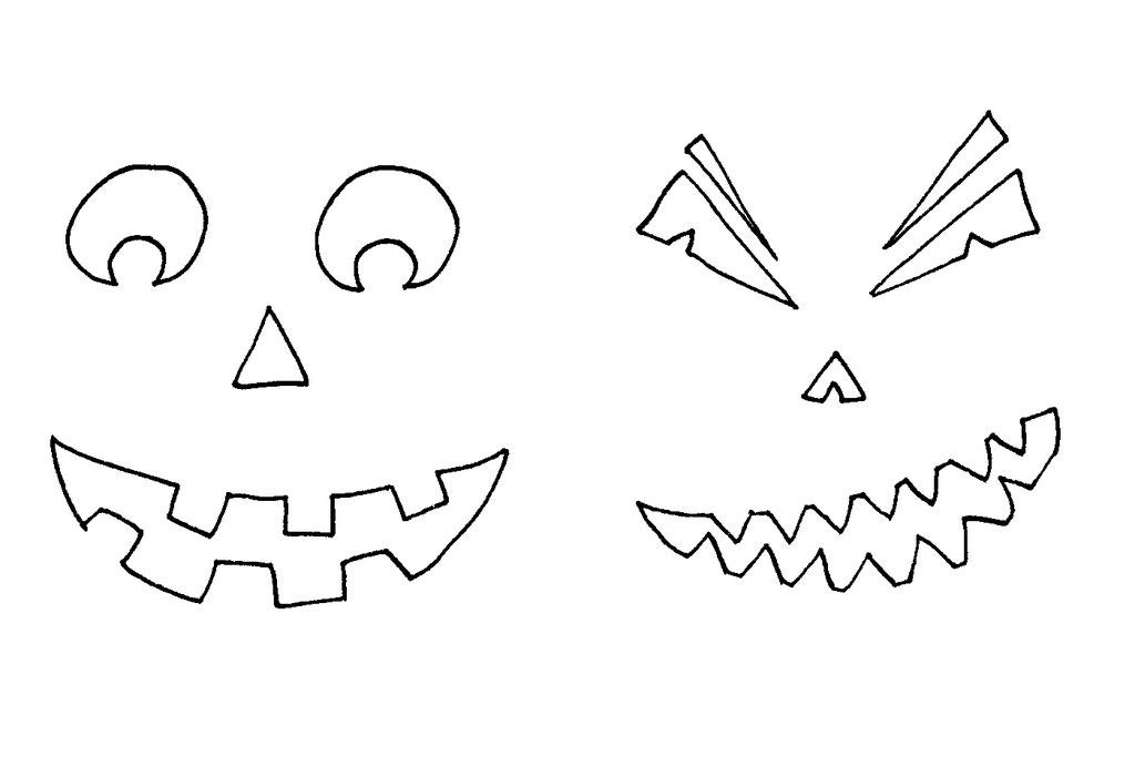 Halloween DIYs Part 1 - jack-o-lantern candle templates - Zebraspider Eco Anti-Fashion