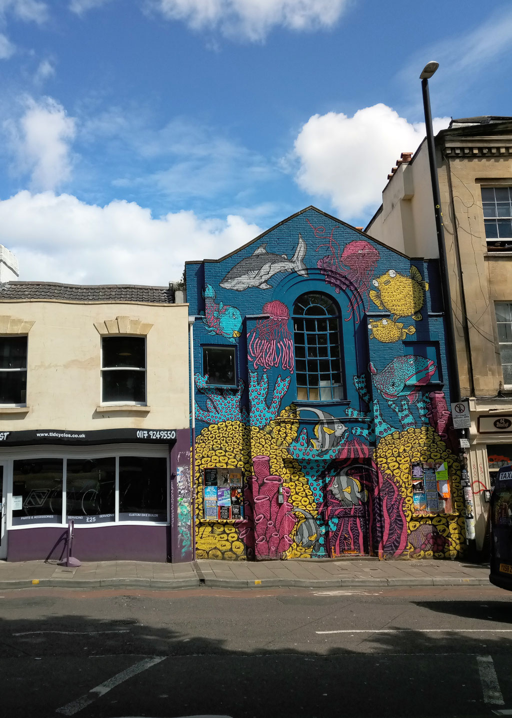 Zum Urlaub nach Cornwall - Bristol Stokes Croft - Zebraspider DIY Anti-Fashion Blog