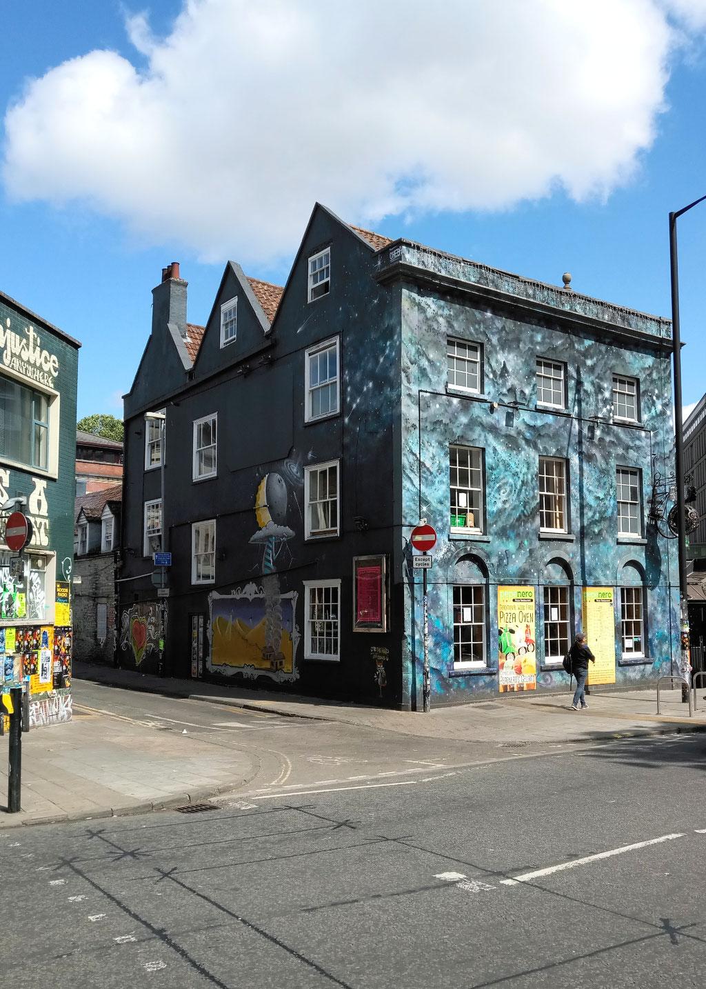 Zum Urlaub nach Cornwall - Bristol Stokes Croft - Zebraspider DIY Anti-Fashion Blog