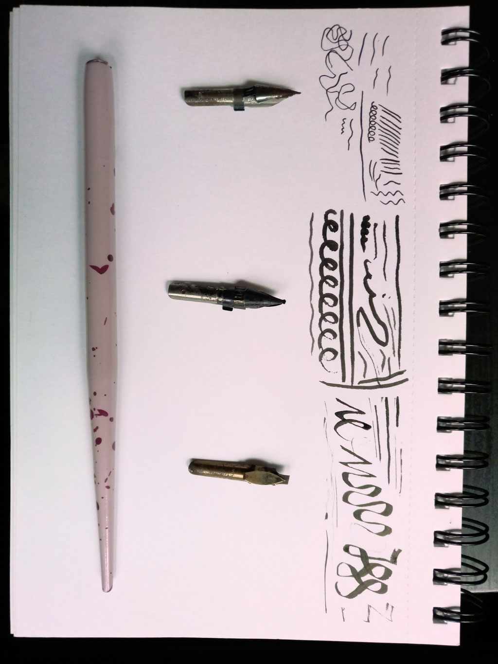 What and how I've been doing - ink & dip pens - Zebraspider DIY Anti-Fashion Blog
