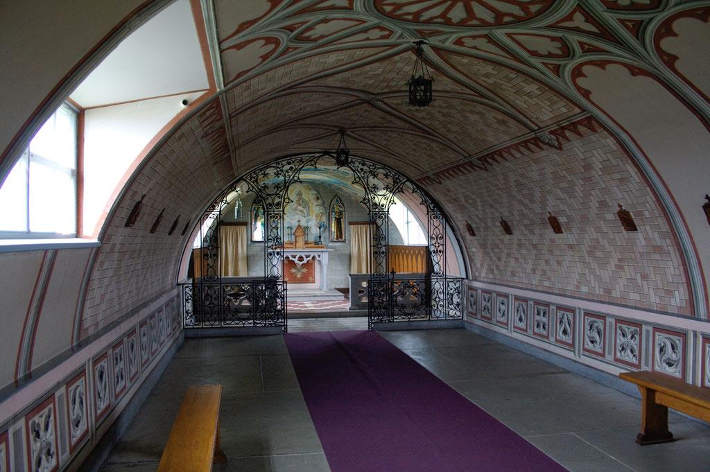 Urlaub Orkney Inseln - Italian Chapel innen - Zebraspider DIY Anti-Fashion Blog