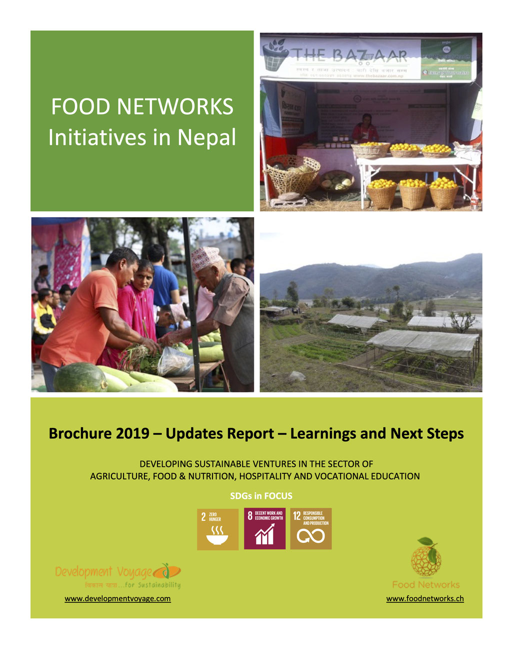 Food Networks Initiatives in Nepal - Update Report 2019
