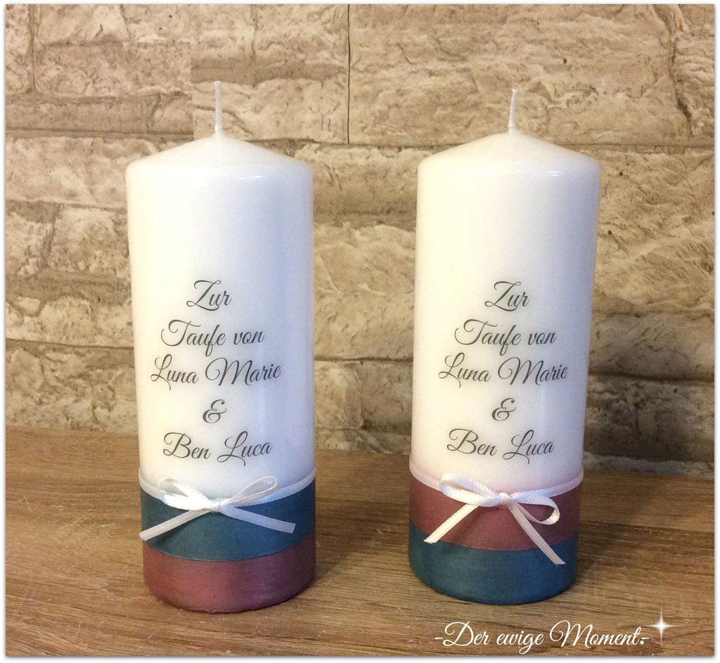 Kerzen für Taufpaten