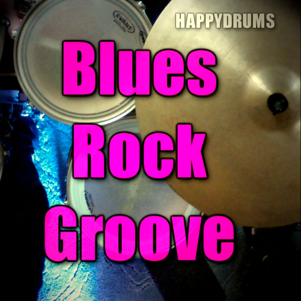 Blues Rock Groove Play-Along For Drummers