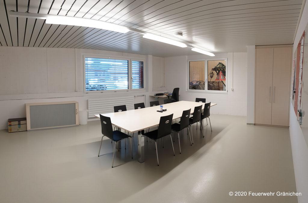 Kommando- und Sitzungsraum