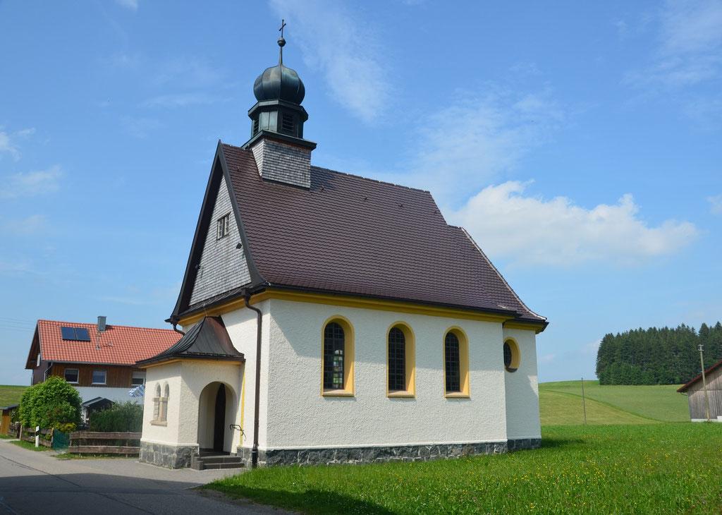 Die Kapelle, das Wahrzeichen von Walzlings