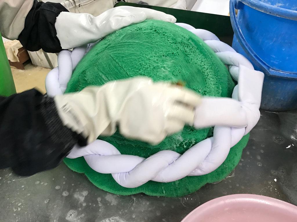 着ぐるみクリーニング表面洗浄