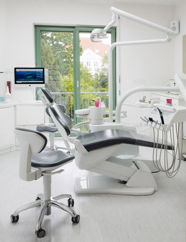 Dr. Nestler Behandlungszimmer